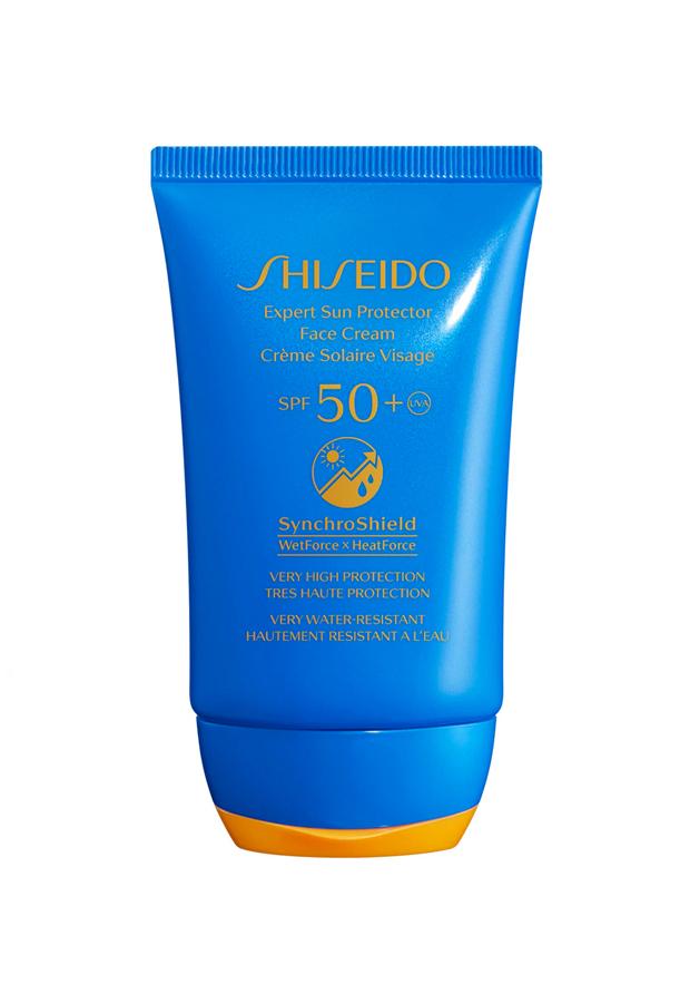 Protector solar facial SPF50+ Shiseido El Corte InglésProductos de belleza de rebajas