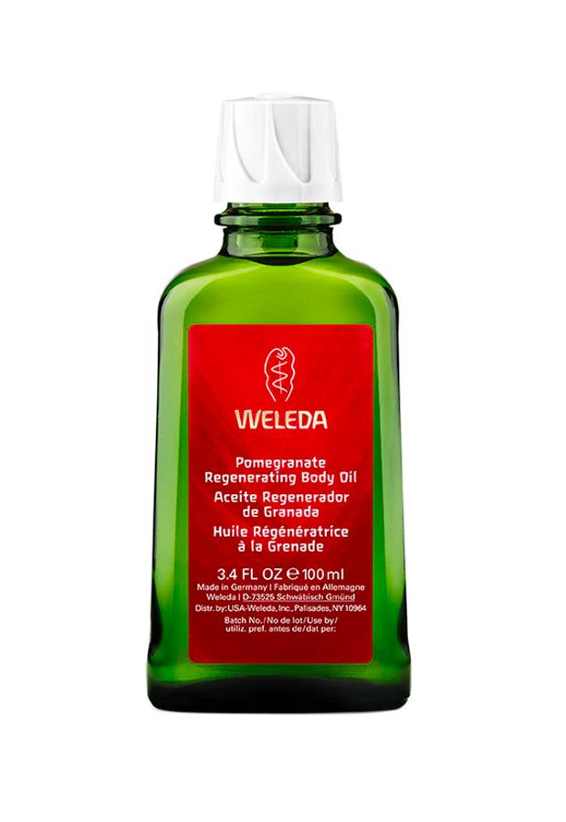 Aceite Corporal Regenerador de Granada Weleda aceites corporales hidratantes
