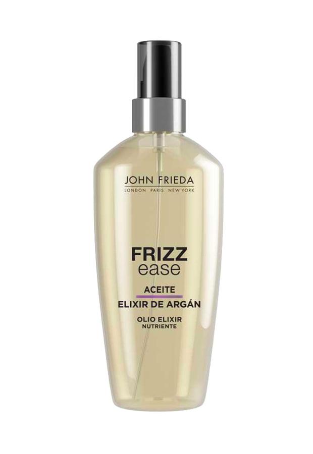 Aceite Elixir con Argán Frizz-Ease John Frieda productos pelo encrespado