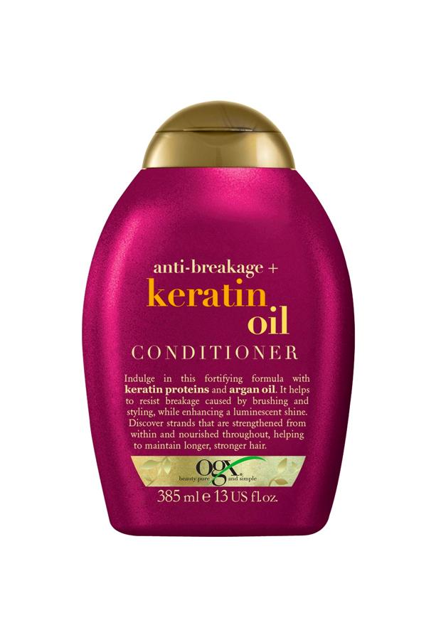 Acondicionador Aceite Keratina Ogx productos pelo encrespado