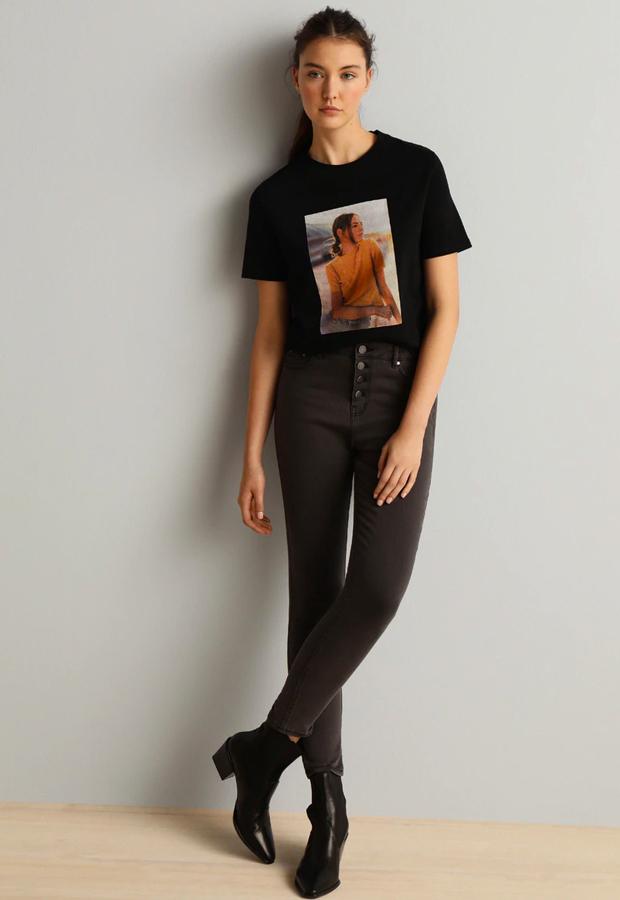 camisetas basicas Camiseta con print fotográfico de Fórmula Joven