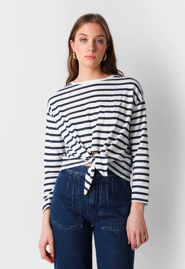 rayas marineras Camiseta de Scalpers