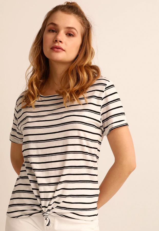camisetas basicas Camiseta con rayas marineras Easy Wear