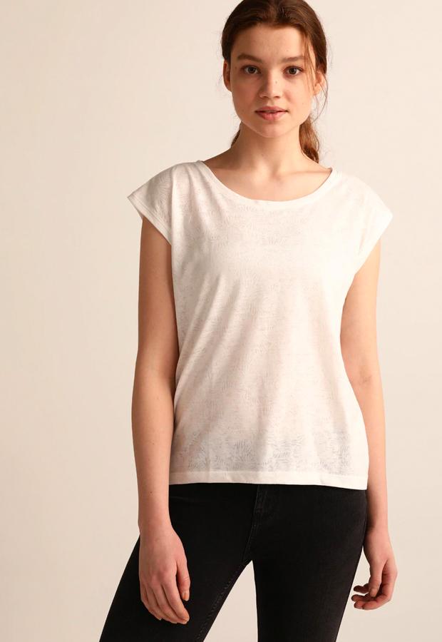 camisetas basicas Camiseta sin mangas blanca de Easy Wear