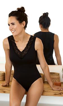 Camisetas y bodies para verano que seguirás usando en invierno como prendas interiores