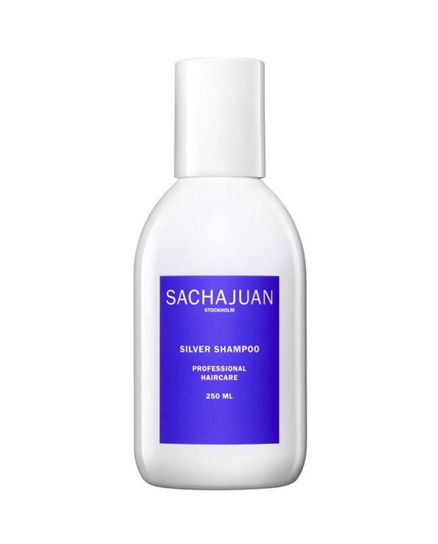 cuidados de pelo teñido Silver Shampoo de Sacha Juan