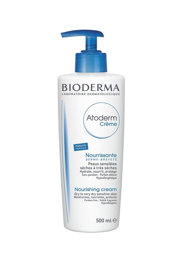 bronceado perfecto Crema corporal Atoderm Piel Seca Bioderma