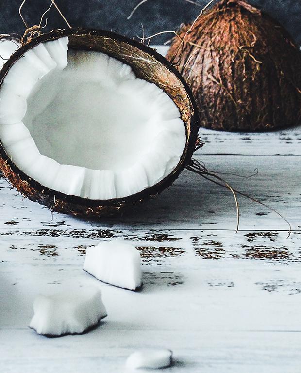 aceite de coco protección pelo teñido