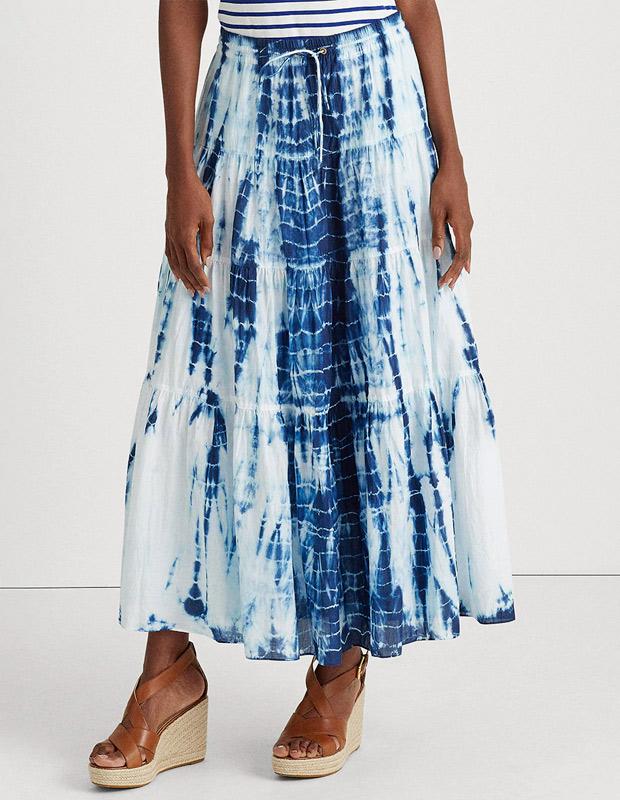 Falda con Estampado tie dye