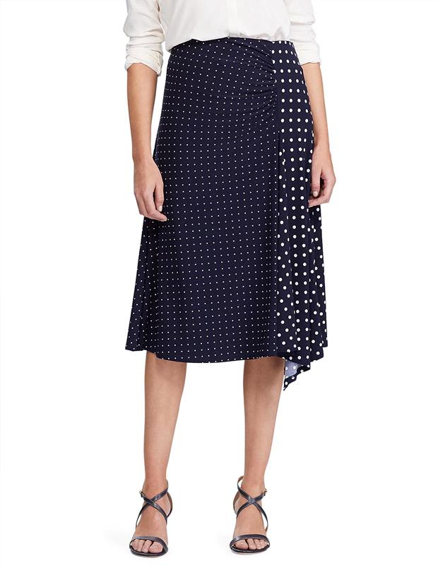 Falda de lunares de Ralph Lauren