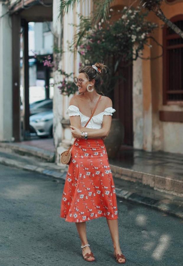 falda de flores Looks de Bartabac verano
