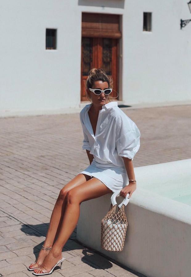 Vestido camisero Oversized Looks de Bartabac verano