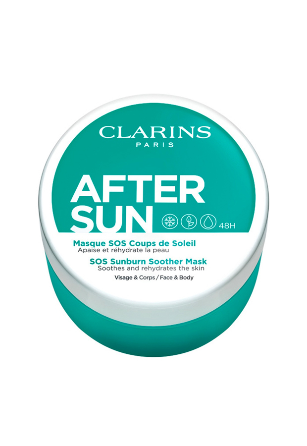 bronceado perfecto After Sun Suncare Aftersun Mask Clarins