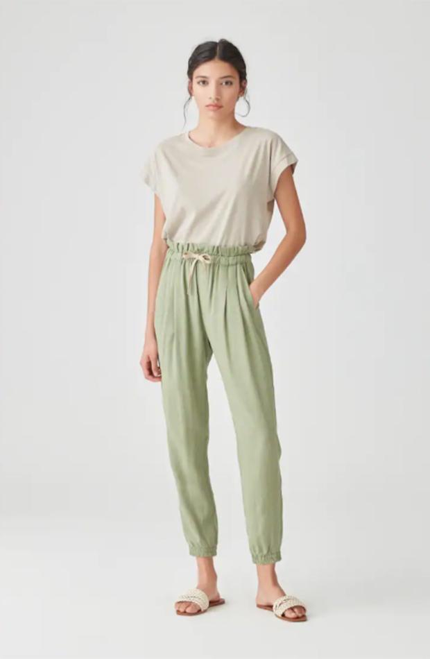 Pantalones de lino de Pull&Bear
