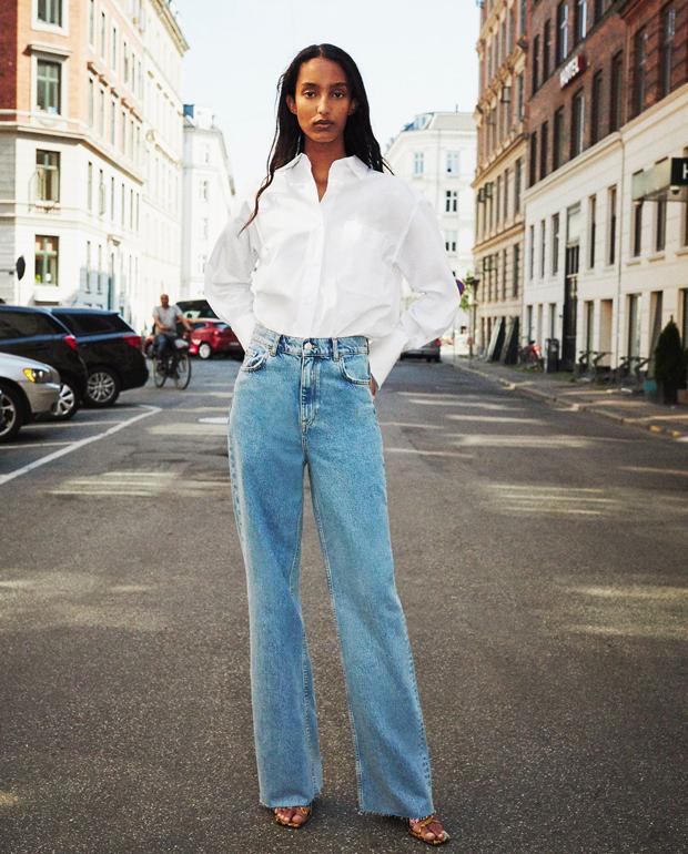Pantalones rectos Zara