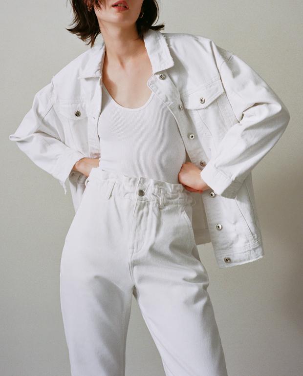 Paperbag blancos de Zara