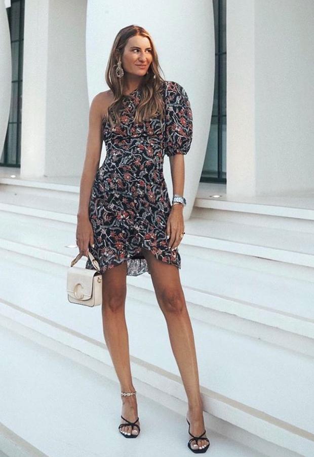 Looks de Bartabac verano vestido asimétrico