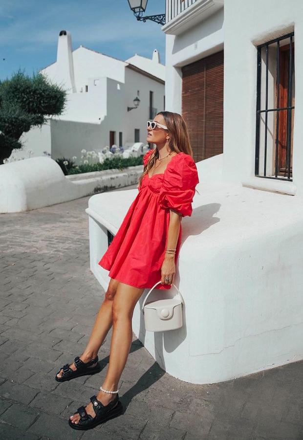vestido coral Looks de Bartabac verano