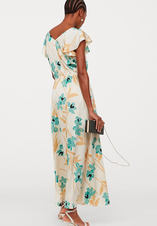 vestido floral de HM