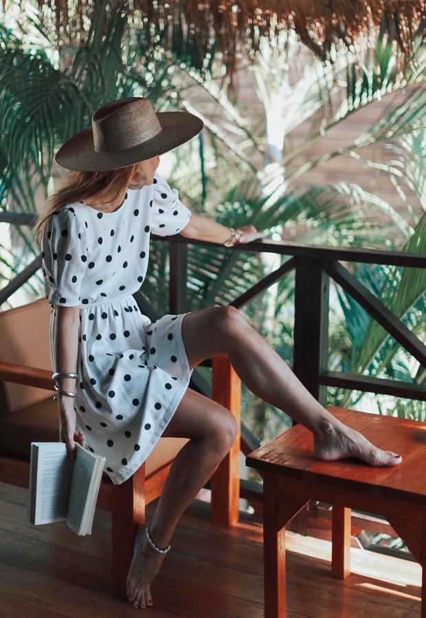 vestido de lunaresLooks de Bartabac verano