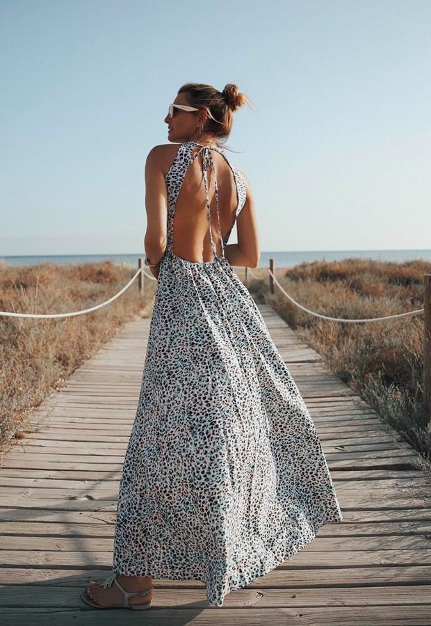 Looks de Bartabac verano escote en la espalda
