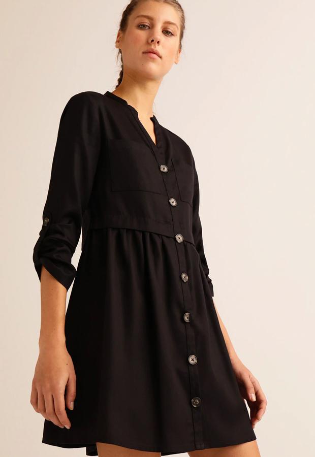 Vestido negro Easy Wear prenda para maleta de viaje