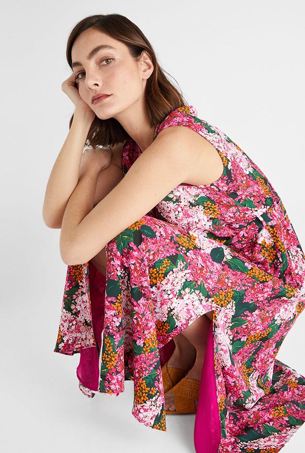 Vestidos de Cortefiel para verano de flores