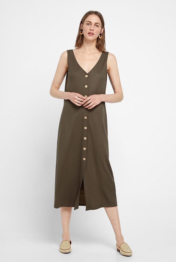 Vestidos de Cortefiel para verano tipo túnica