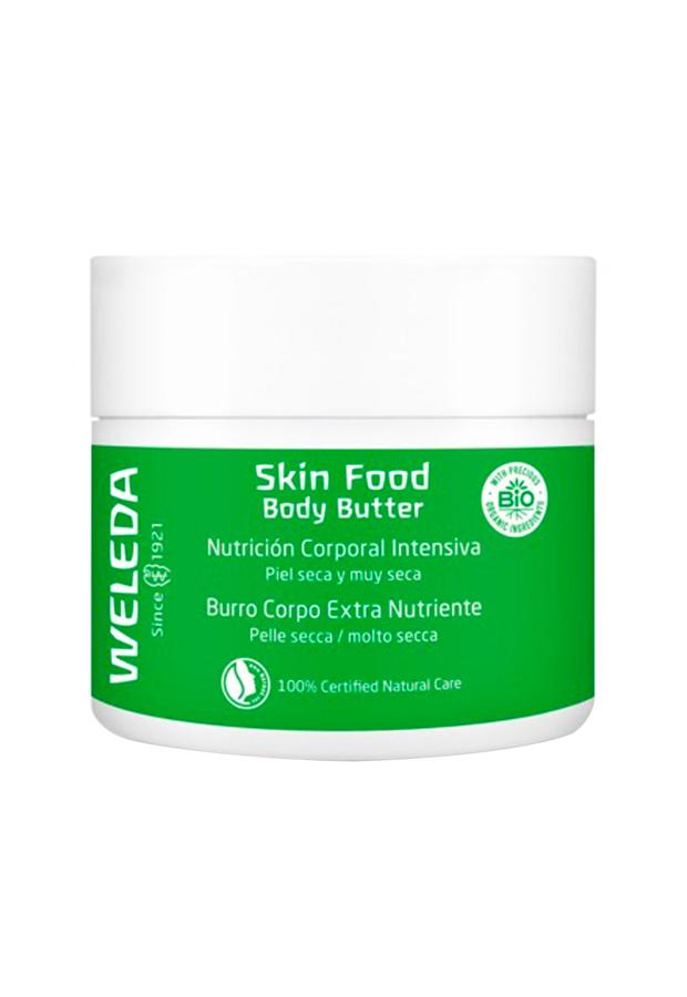 bronceado perfecto Bálsamo corporal nutritivo Skin Food Body Butter Weleda