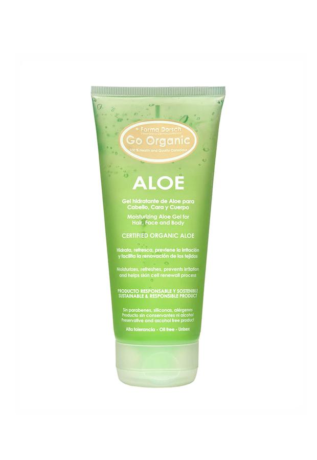 alargar el bronceado Gel hidratante de Aloe Go Organic Farma Dorsch