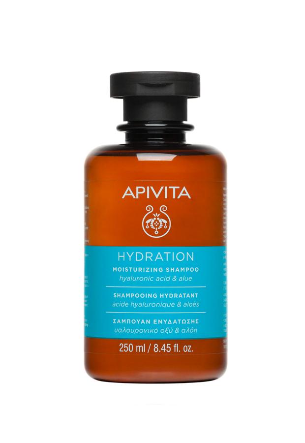 champus nutritivos Champú Hidratante Ácido Hialurónico & Aloe Apivita