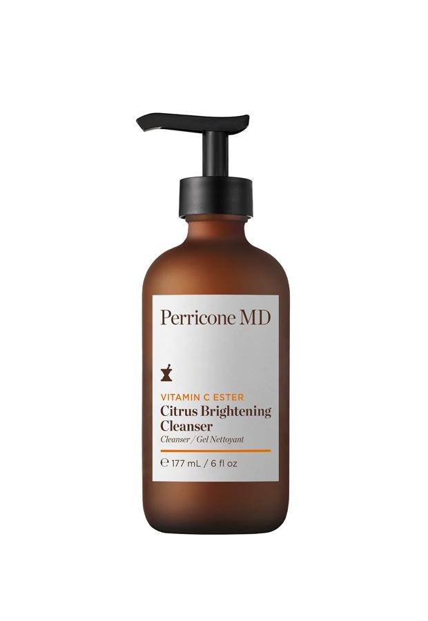 alargar el bronceadoLimpiadora Vitamin C Ester Citrus Brightening Cleanser Perricone MD
