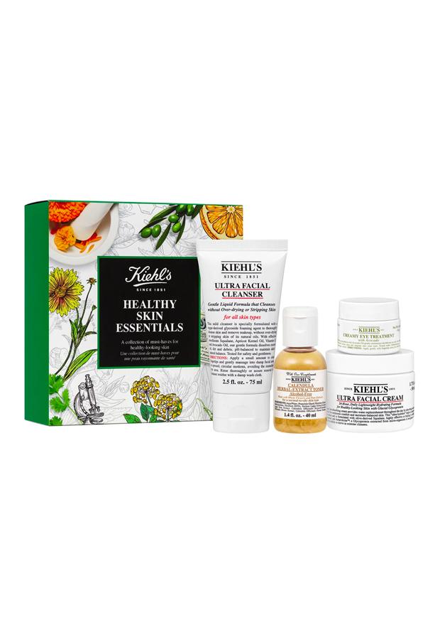 Healthy Skin Essentials Kit Kiehl's basicos de belleza formato viaje