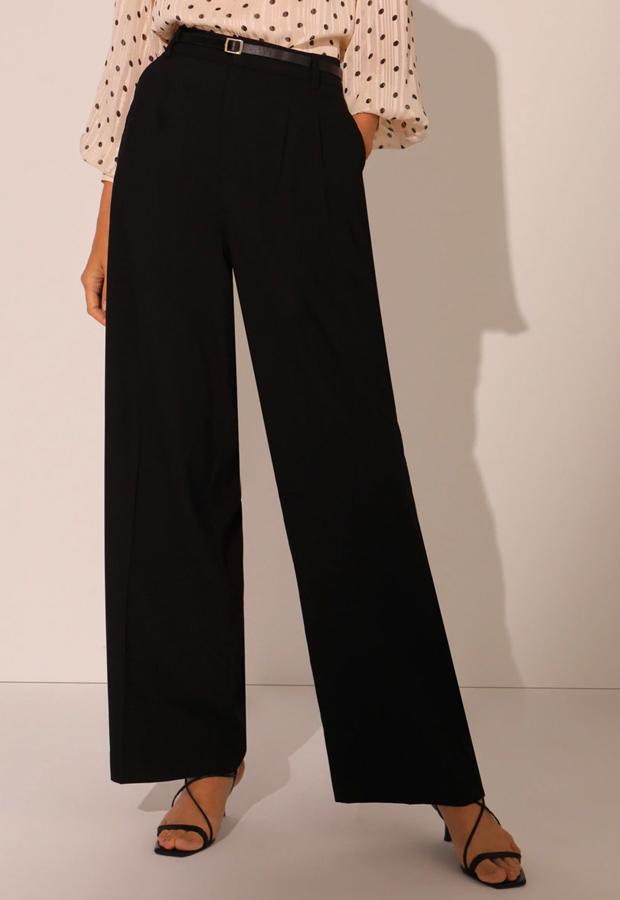 pantalones tendencia 2020 Pantalón ancho a la cintura