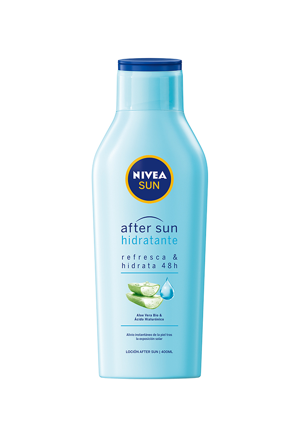 after sun productos reparadores Loción After Sun hidratante Nivea Sun