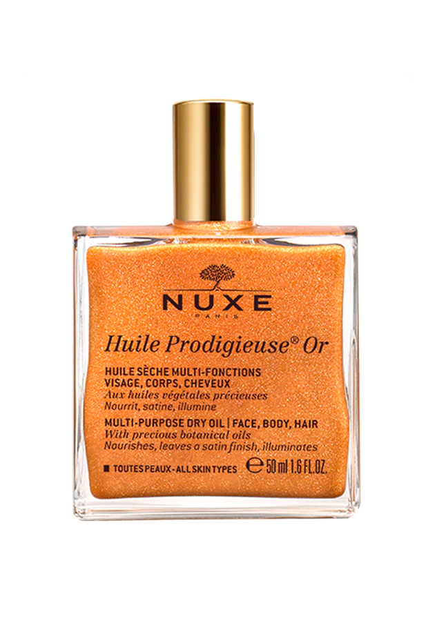 alargar el bronceado Aceite Hidratante Huile Prodigieuse Or Nuxe