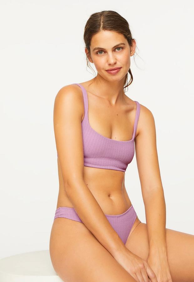 Bikini lila de Oysho