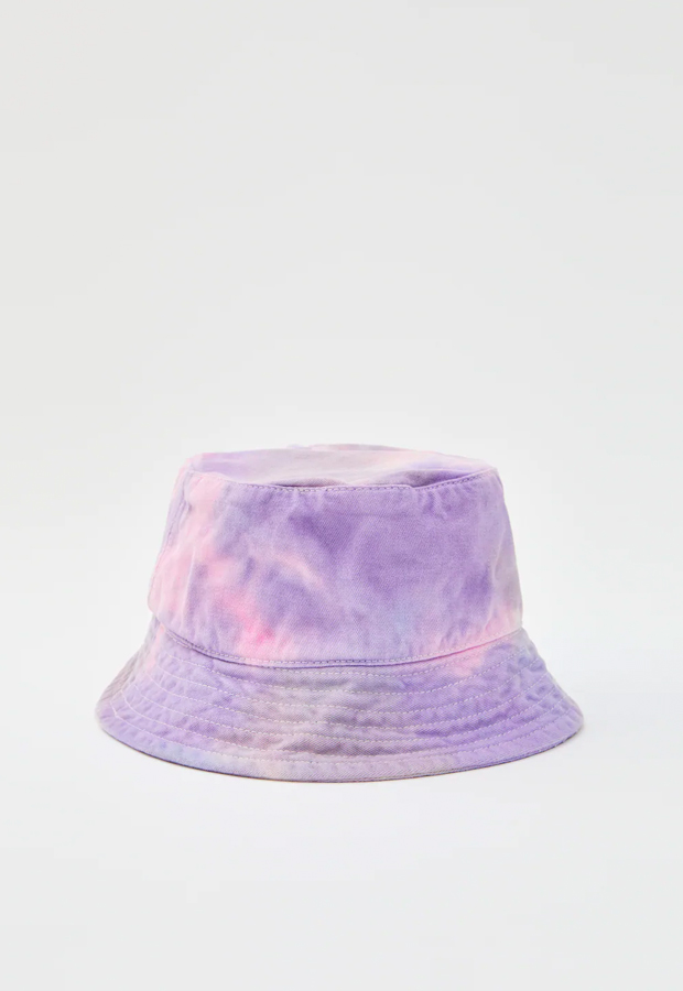 novedades Pull and Bear 2020 Gorro bucket estampado tie-dye