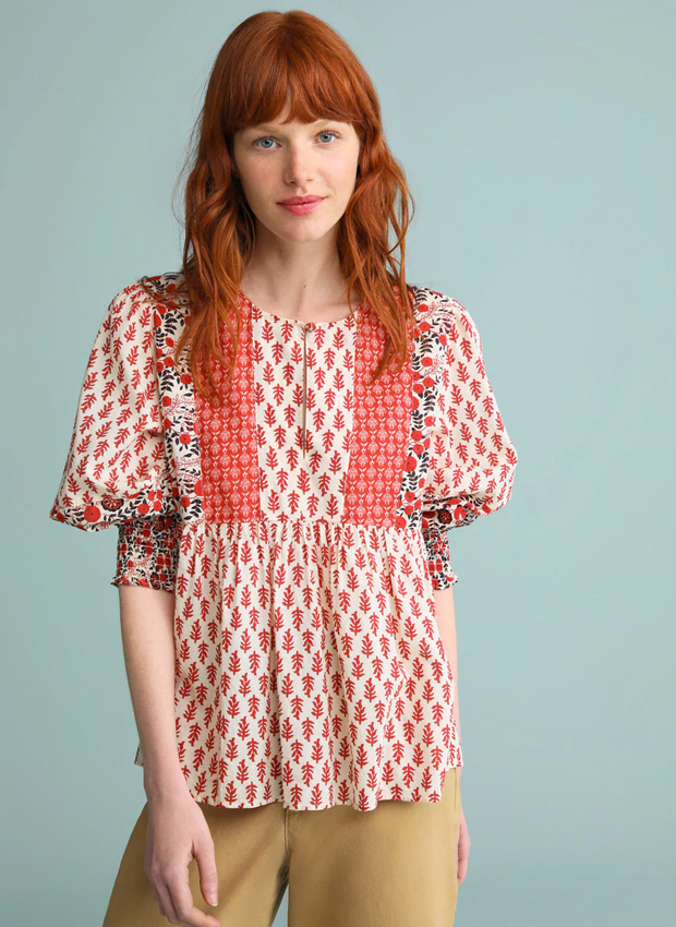 Camisas tendencia de estilo bohemio