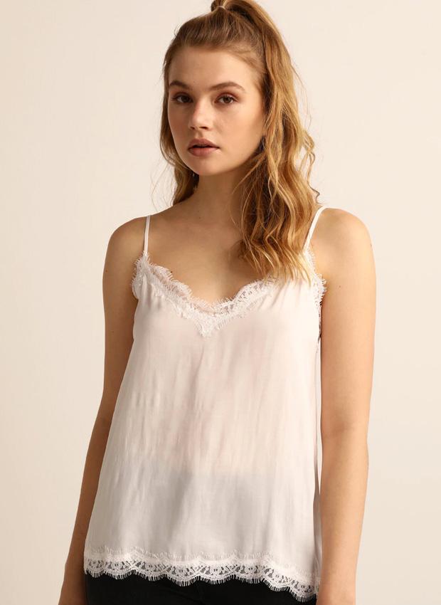 Top lencero blanco de Easy Wear