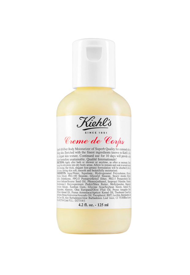 cremas ultra hidratantes Tratamiento corporal hidratante Creme de Corps Kiehl's
