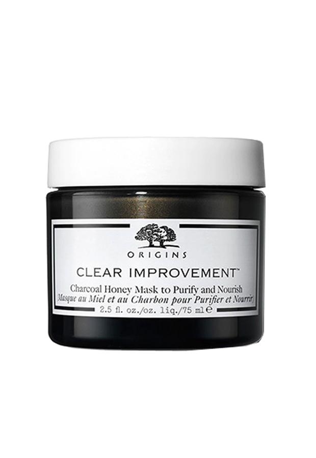 Mascarilla de carbón Clear Improvement Charcoal Honey Mask de Origins