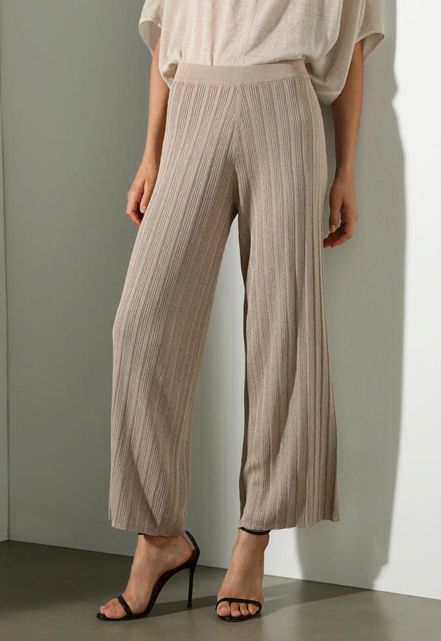 pantalones tendencia 2020 Pantalón de punto recto Woman El Corte Inglés