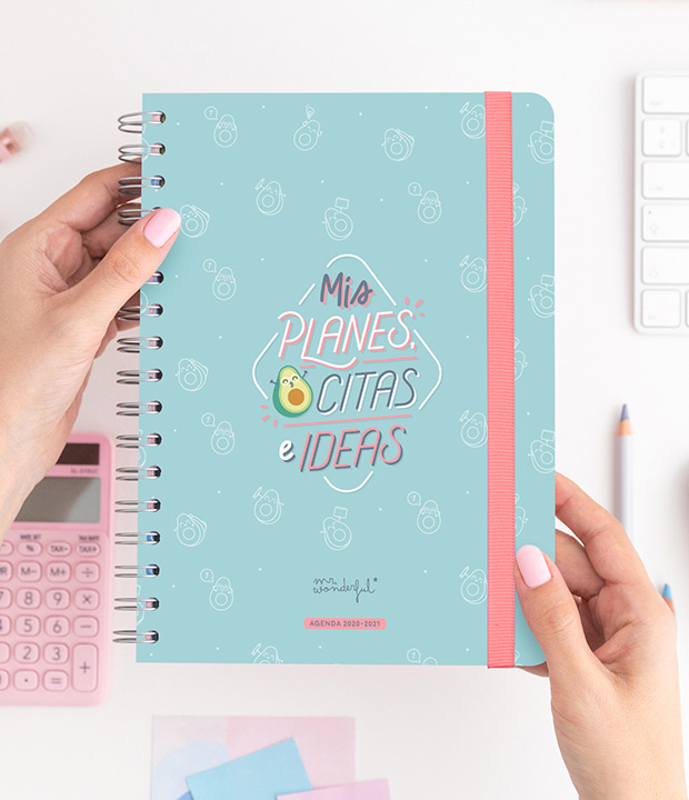 Agendas 2020 2021 de Mr. Wonderful