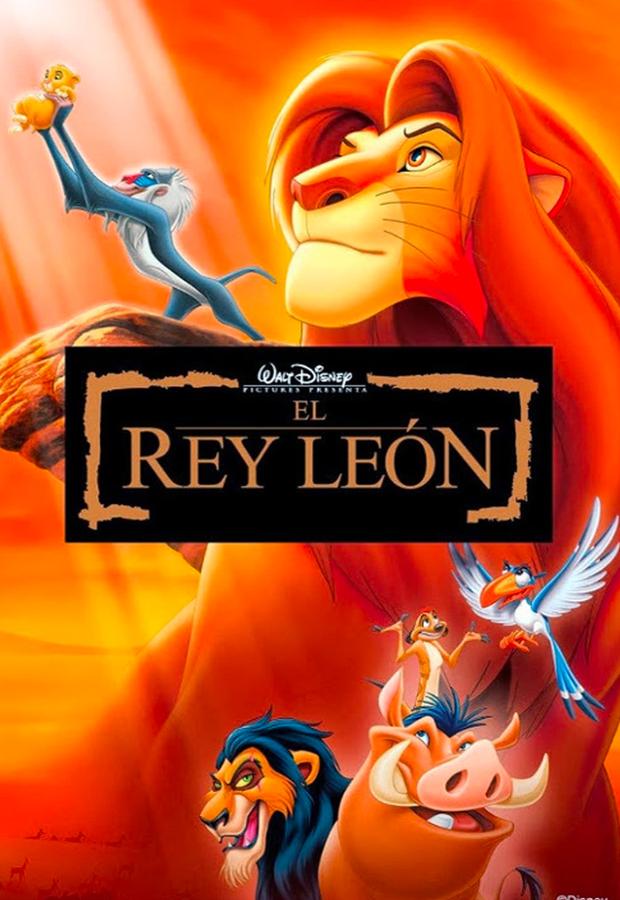 peliculas mas vistas El Rey León