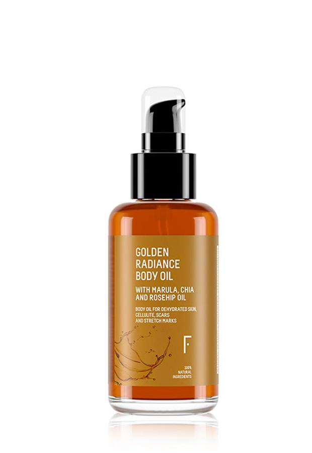 productos de belleza de celebrities Golden Radiance Body Oil