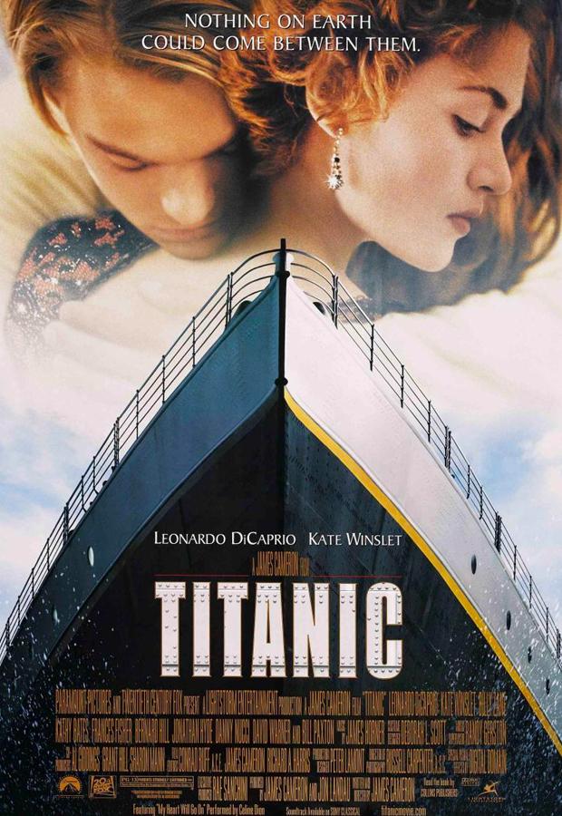 peliculas mas vistas Titanic