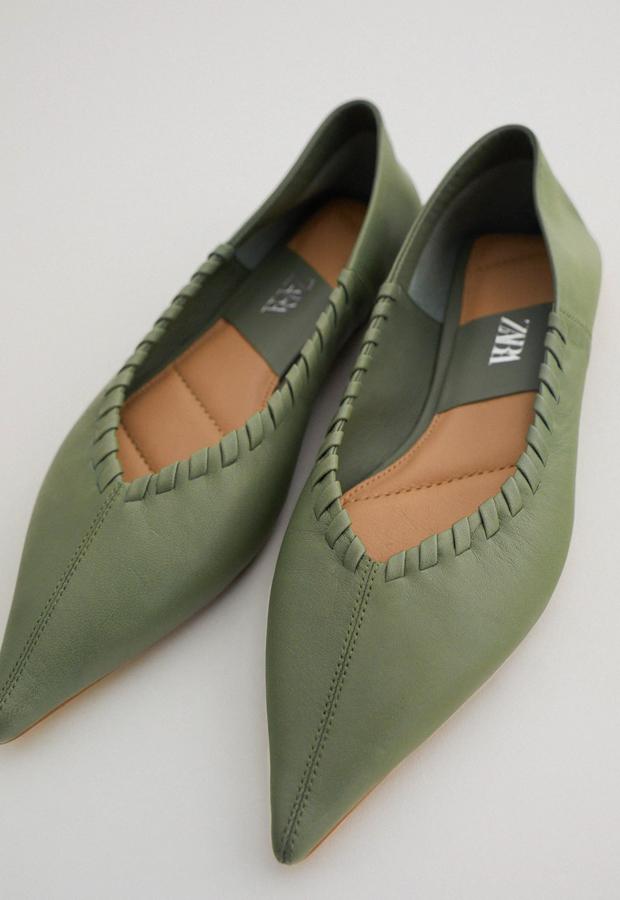 bailarinas baratas Zapato plano Zara