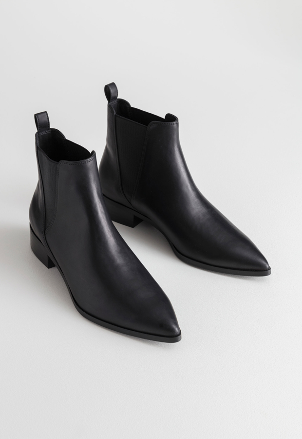 botines bonitos Leather Chelsea Boots de &Other Stories