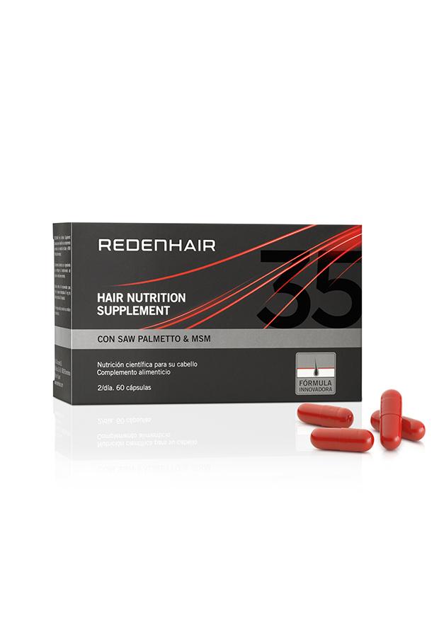 caida del cabello Cápsulas Hair Nutrition Supplement Redenhair